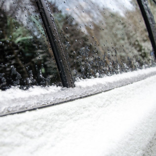 Melt snow and ice off your car faster